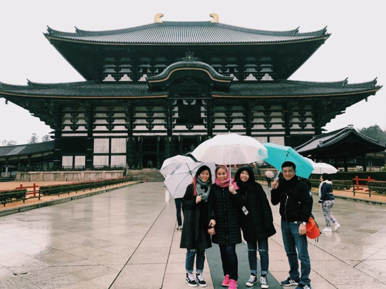 Todai-ji, the temple must go in Nara