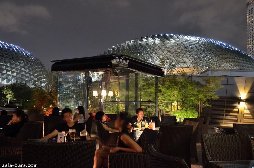 Best rooftop bars Singapore ORGO (1)