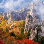 Seoraksan autumn blog — Admiring fall foliage & Cable car riding in Seoraksan National Park in autumn