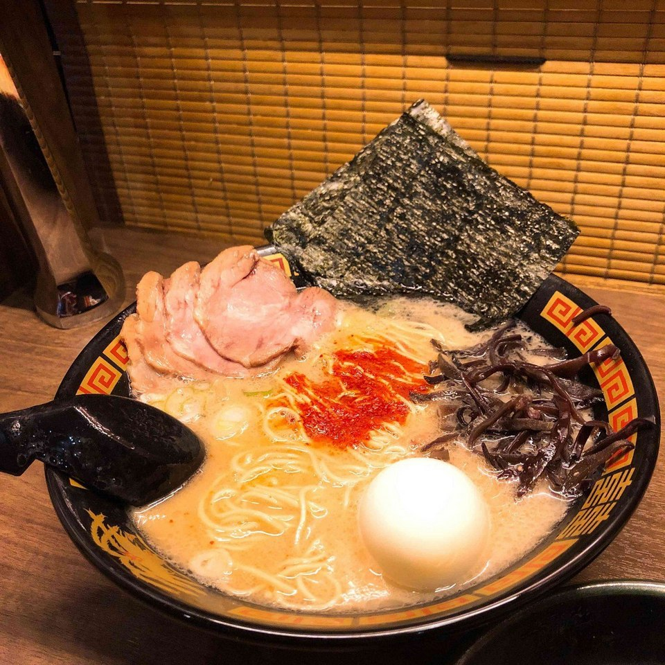 The famous Ichiran Ramen of Japan