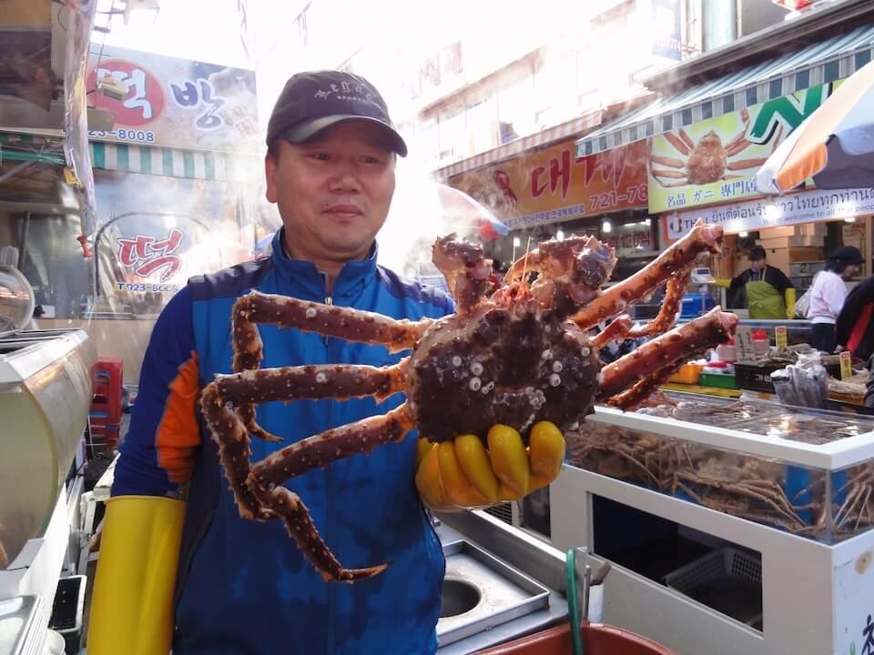 East Busan Gijang Crab Market