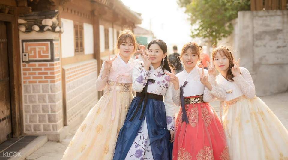 Wear the traditional hanbok and take as many photos as you want to.