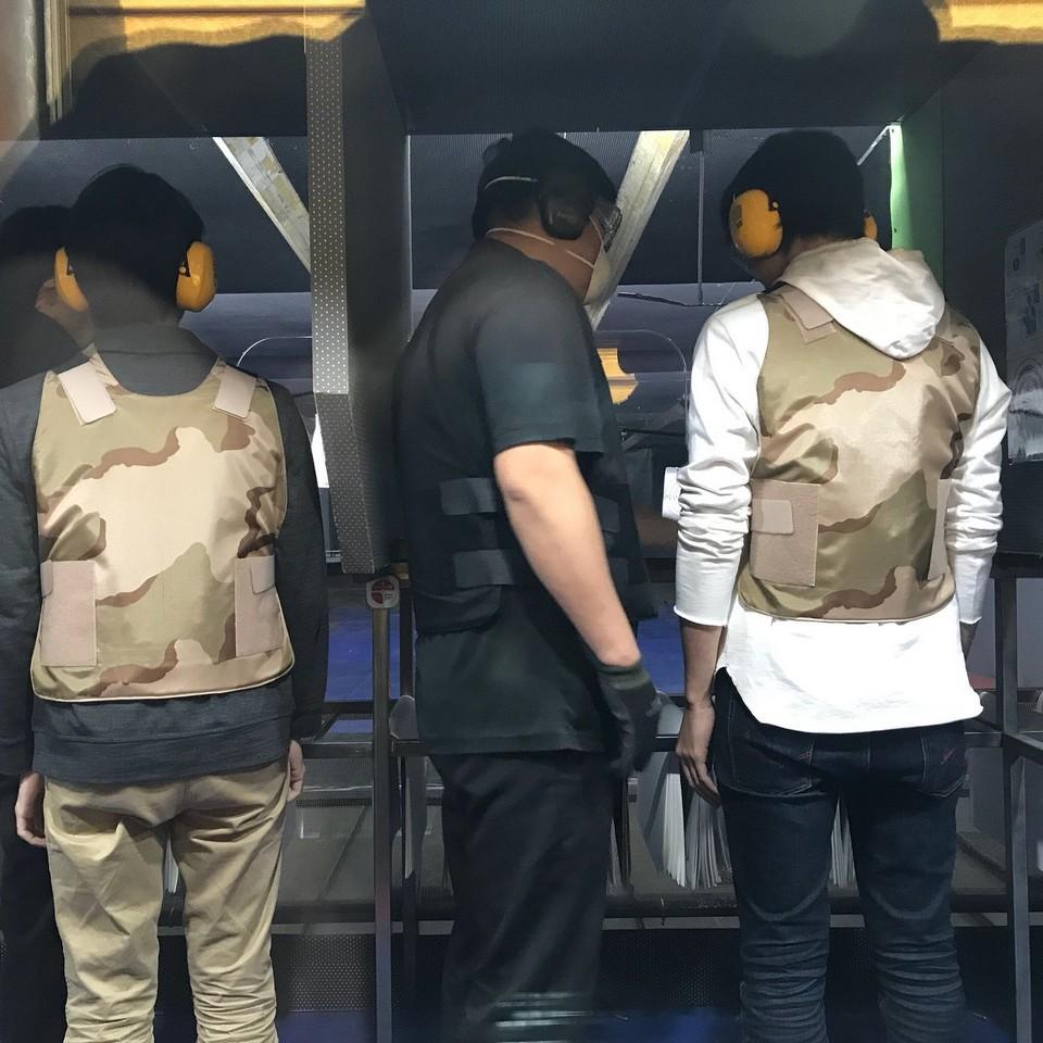 Myeongdong Real Gun Shooting Range Myeongdong shooting range