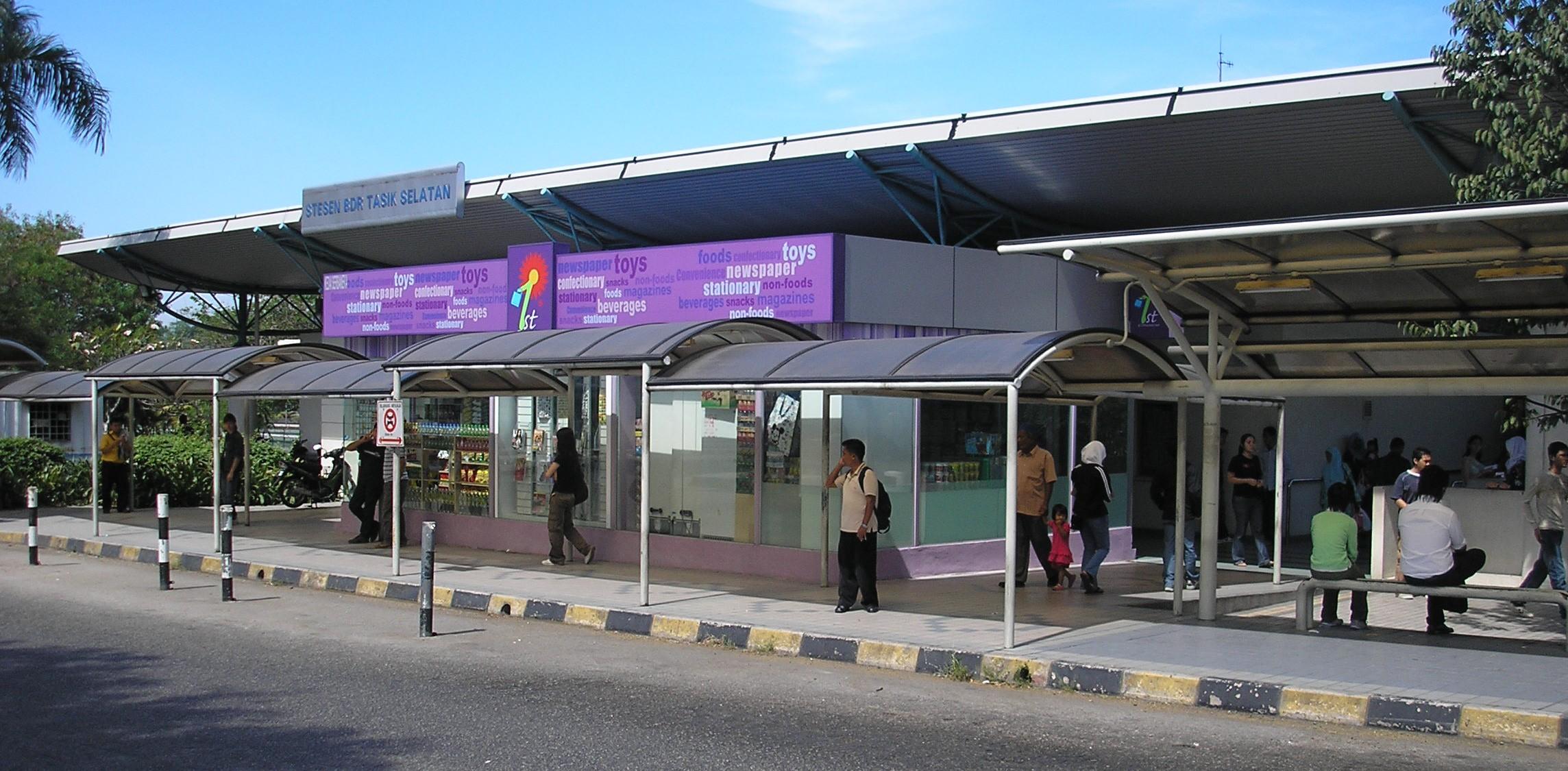 Bandar Tasik Selatan station