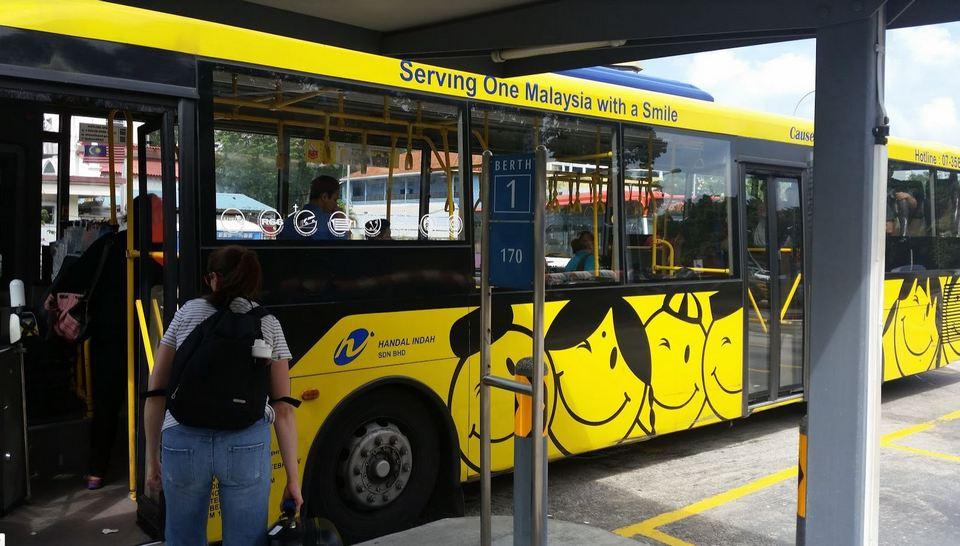 Malaysia Singapore bus