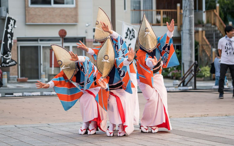 Cultural Festival in Ginzan Onsen