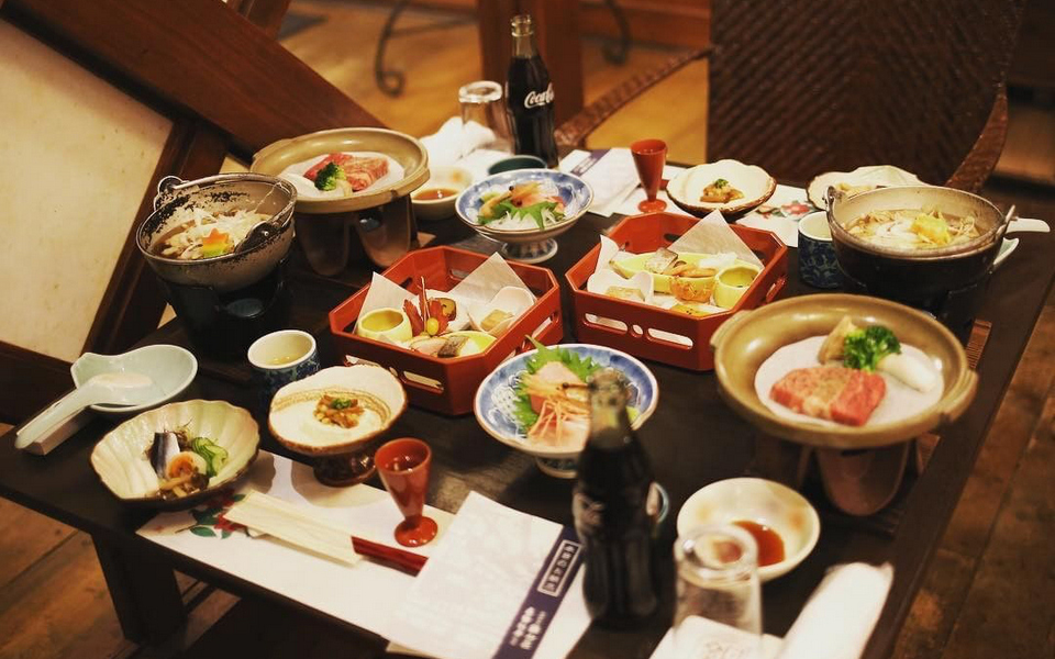 Delicious Foods in Ginzan Onsen