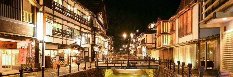 Inn ranges_Ginzan Onsen
