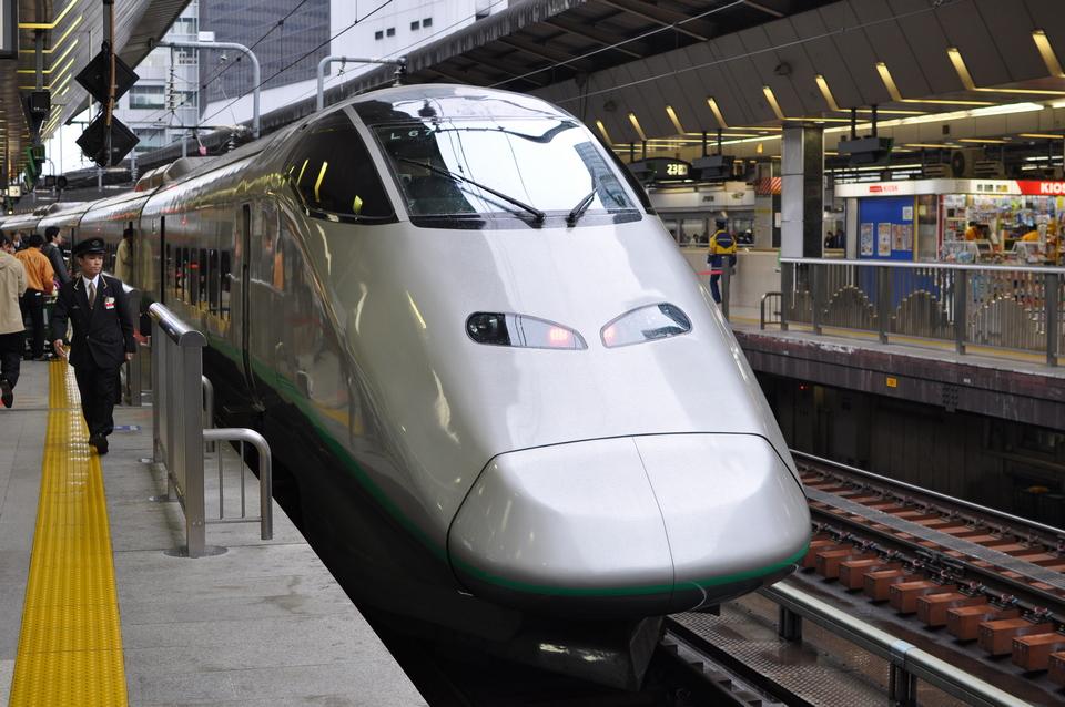 JR Yamagata Shinkansen bullet train