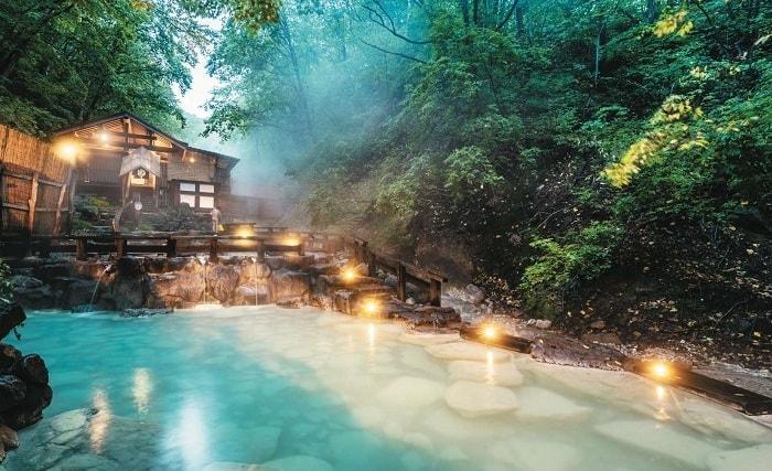 Ginzan Onsen hot spring