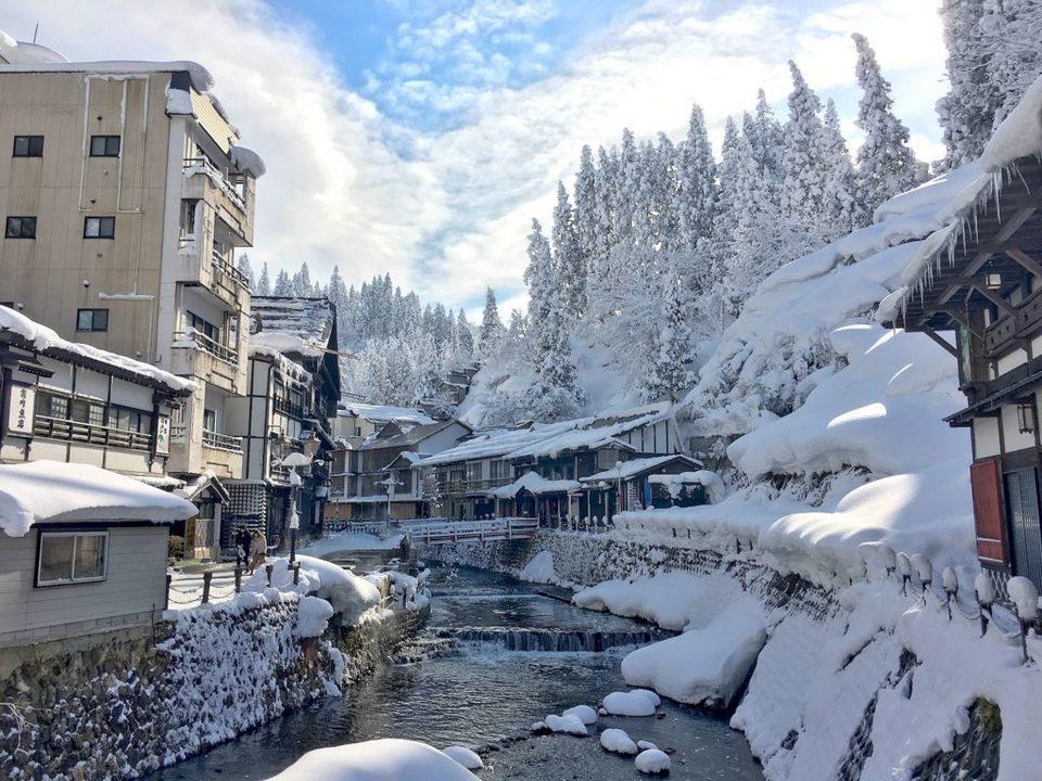Winter_Ginzan Onsen