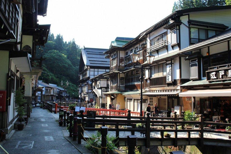 Summer in Ginzan Onsen