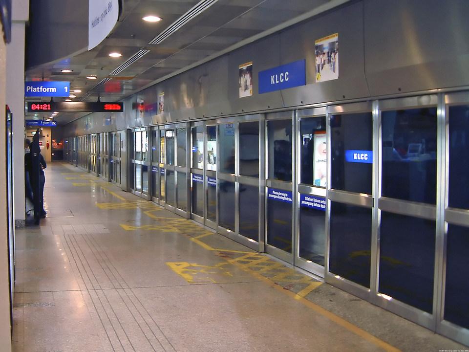 KLCC Subway station