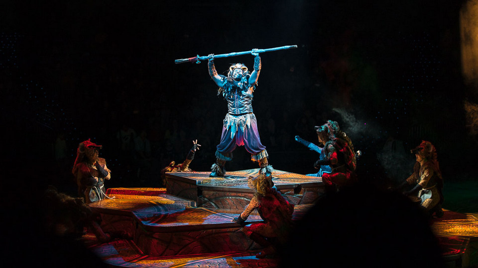 lion king show disneyland