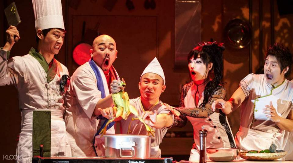 chef bibap show korea