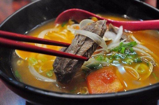 Mien Mien Chu Tao beef noodles bowl