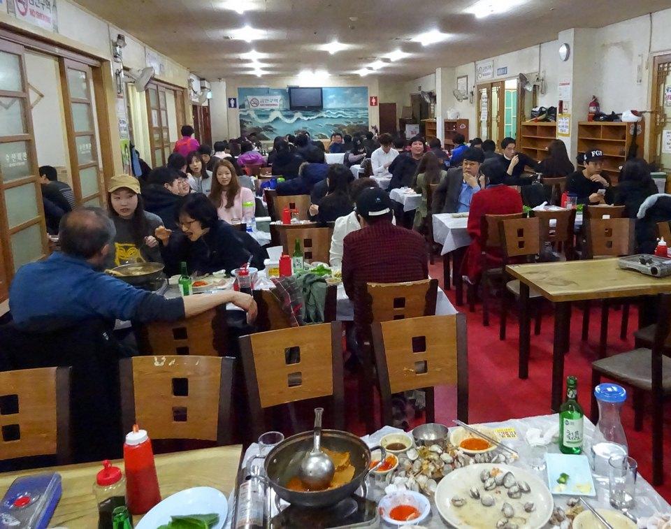 Restaurant at Noryangjin