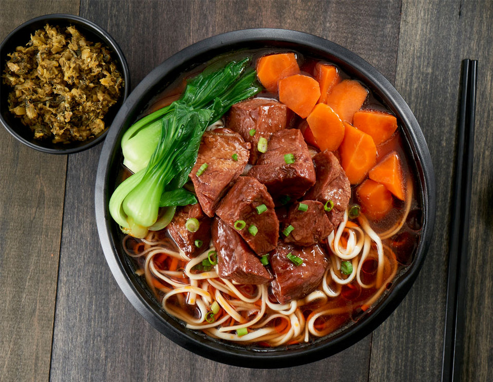 Sichuan Style Beef Noodles