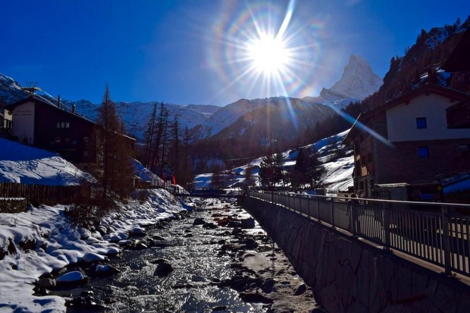 Zermatt's stunning village