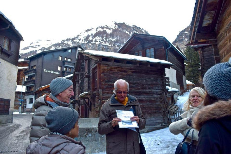 Zermatt's village