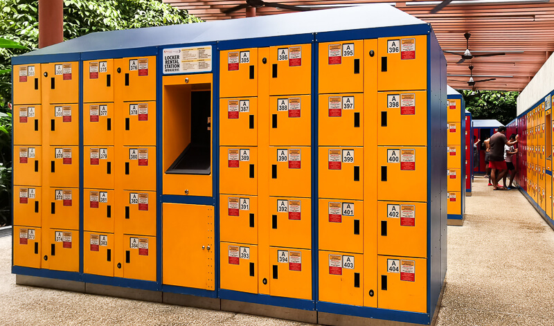 Lockers Rental