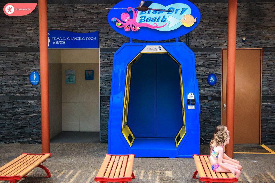Some superb facilities in Adventure Cove
