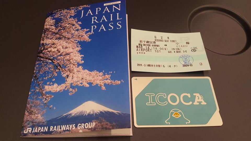 JR Pass and ICOCA Card