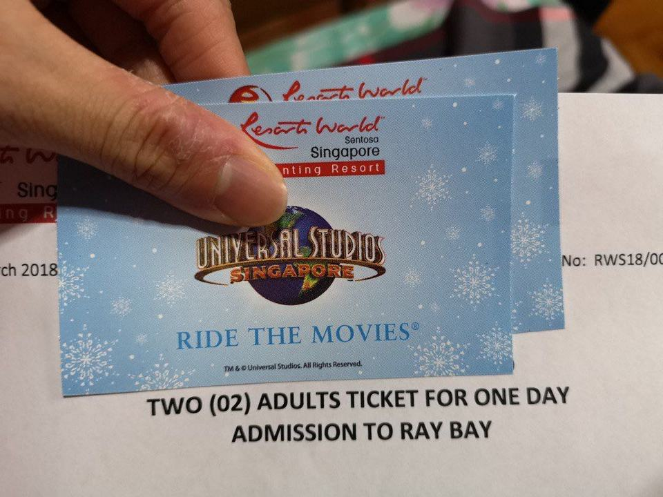 Ray Bay tickets