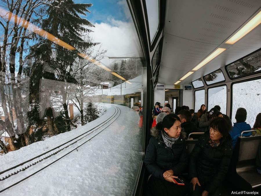 Railway to Jungfraujoch