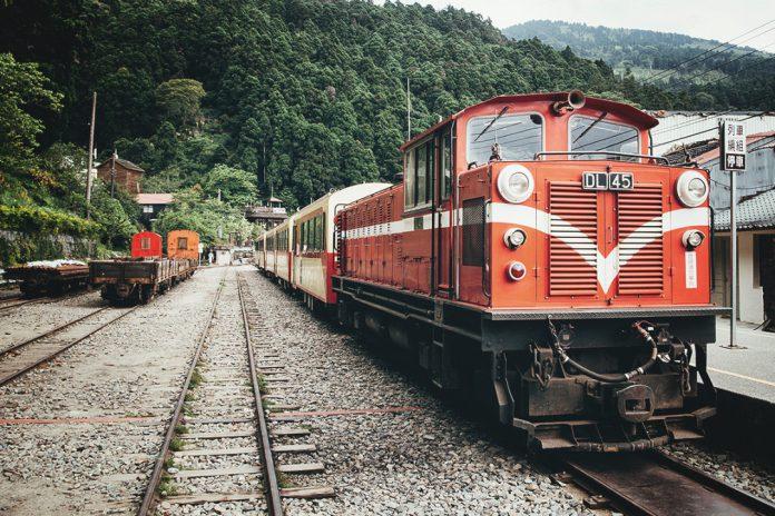Train station in Hualien