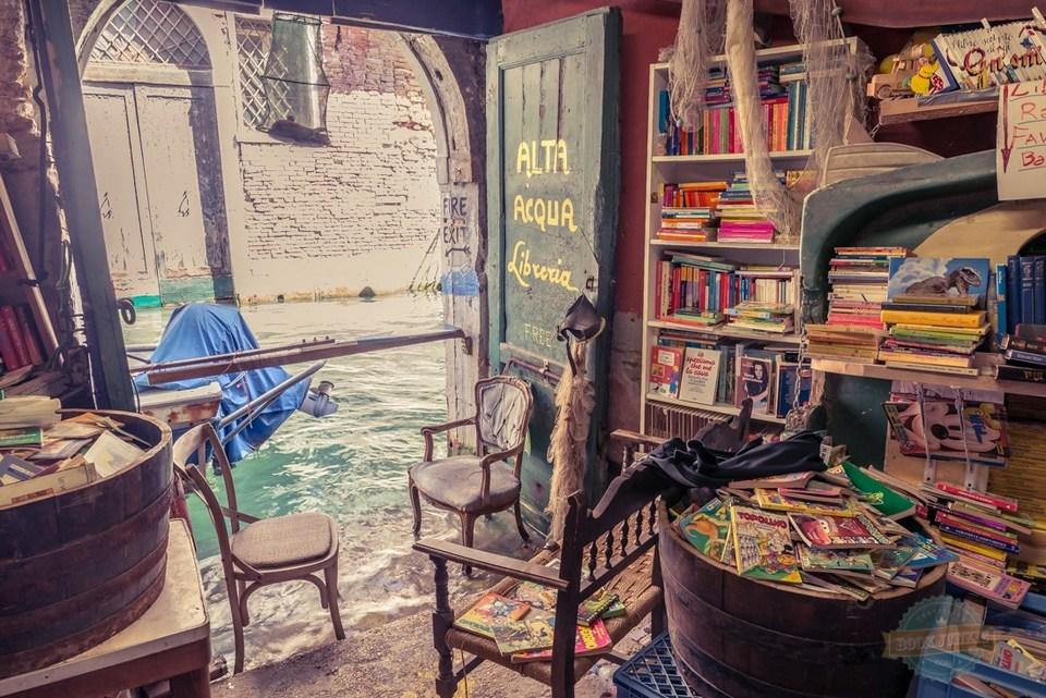 Bookstore in Venice