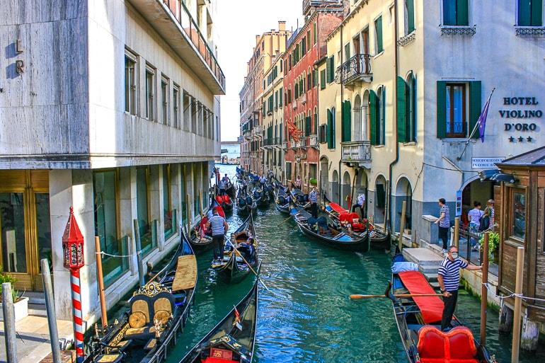 Gondolas Ride, Venice