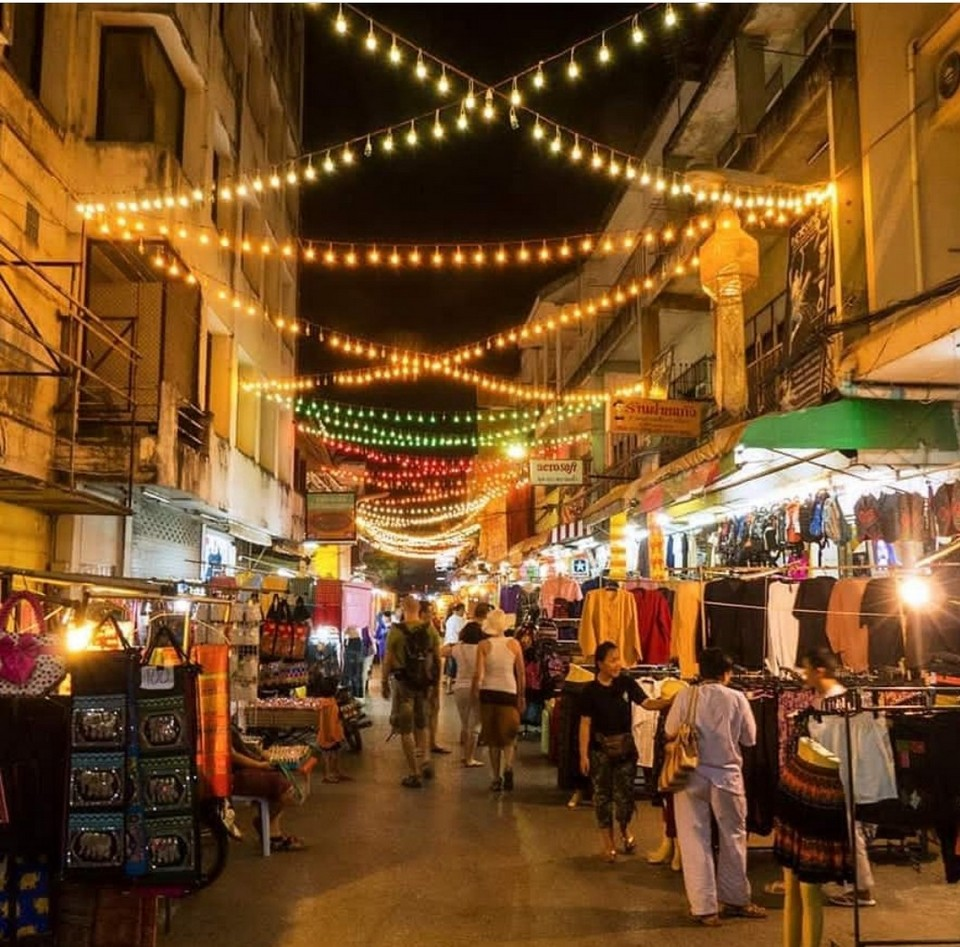 Chiang Rai's night market, Chiang Rai, thailand