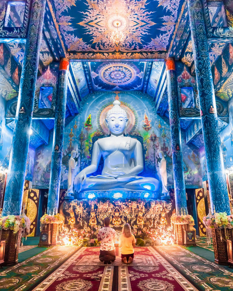Blue Temple, Chiang Rai, Thailand