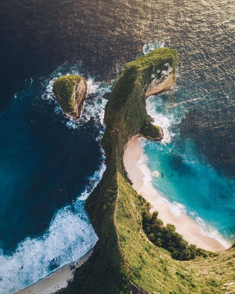 One of the gorgeous scenes in Nusa Penida island