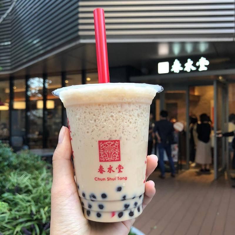 Chun Shui Tang milk tea