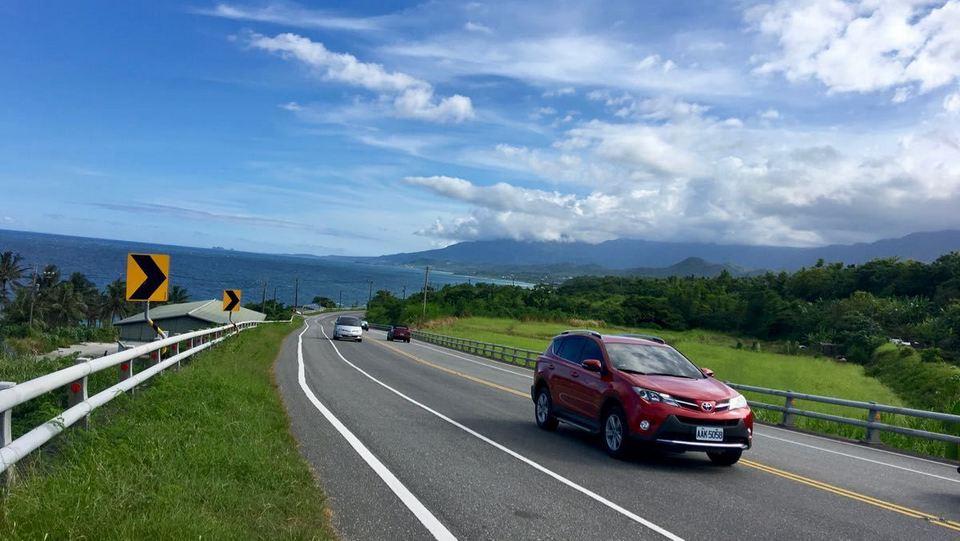 Car rental to Hualien