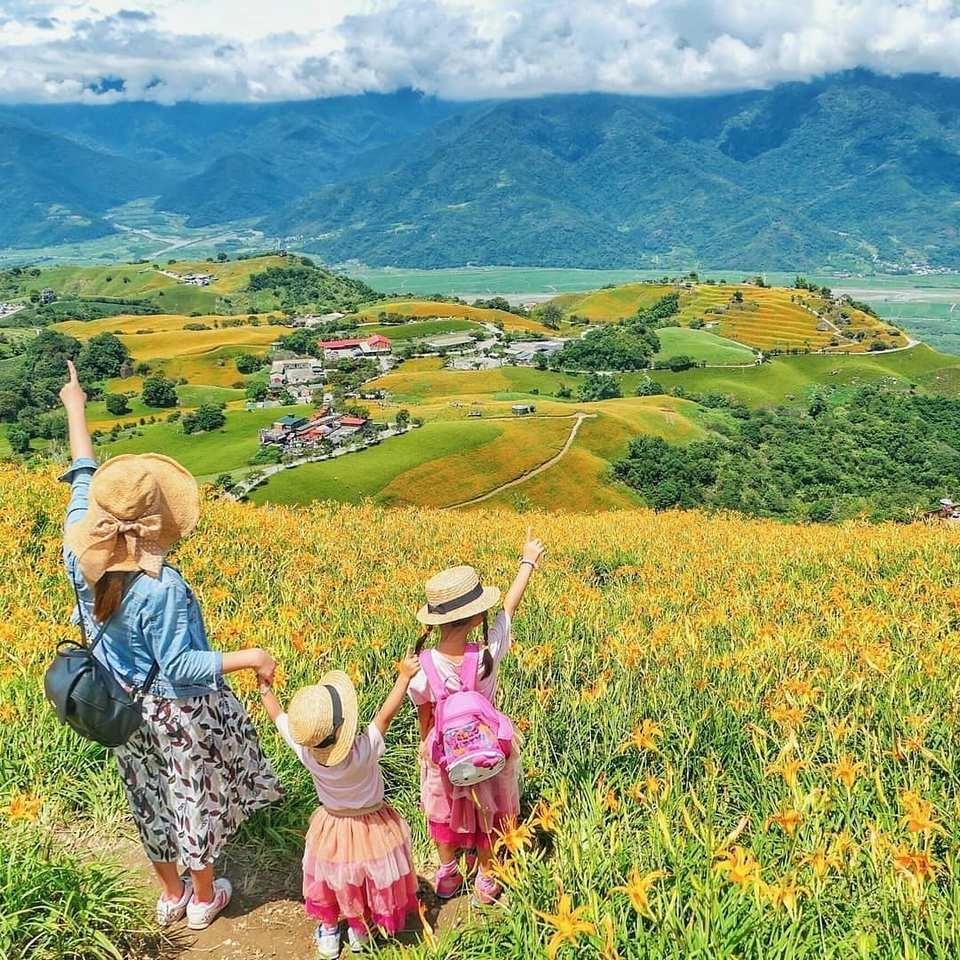 Endless fields surrounding Hualien