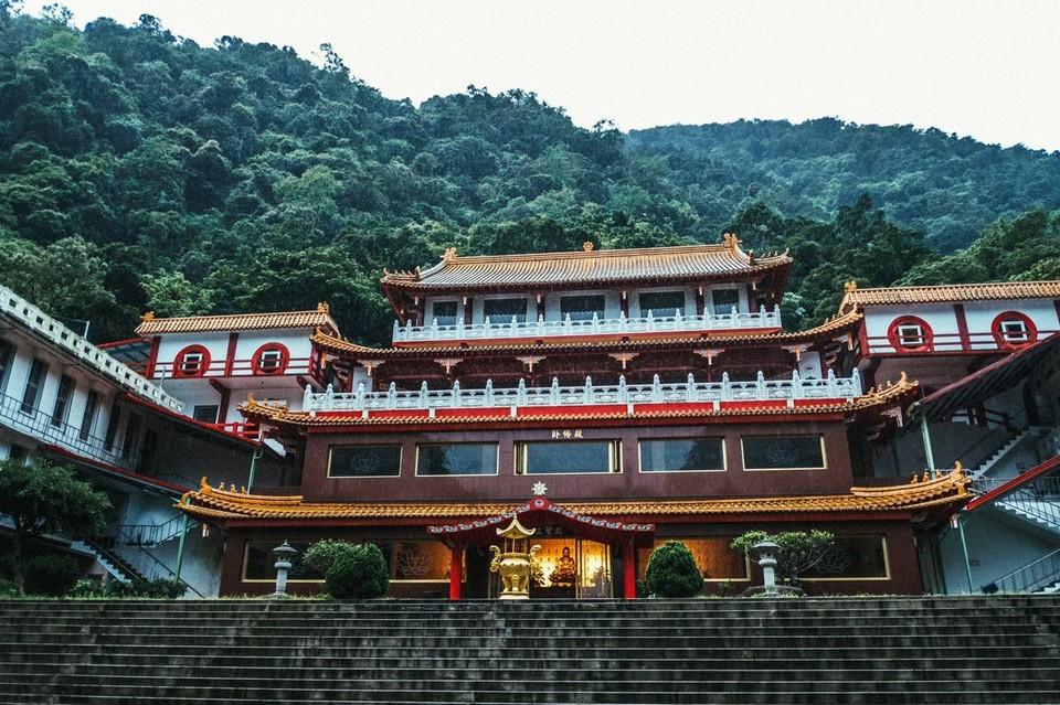 Facade of Xiangde Temple
