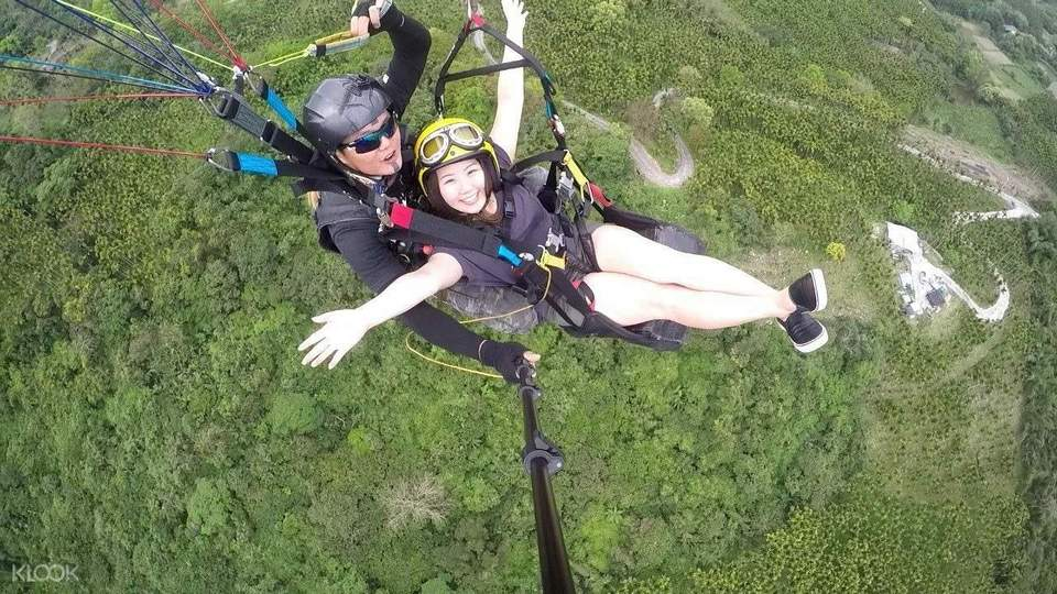 Paragliding Experience in Hualien