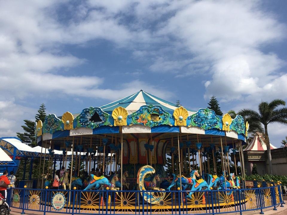 merry-go-round riding