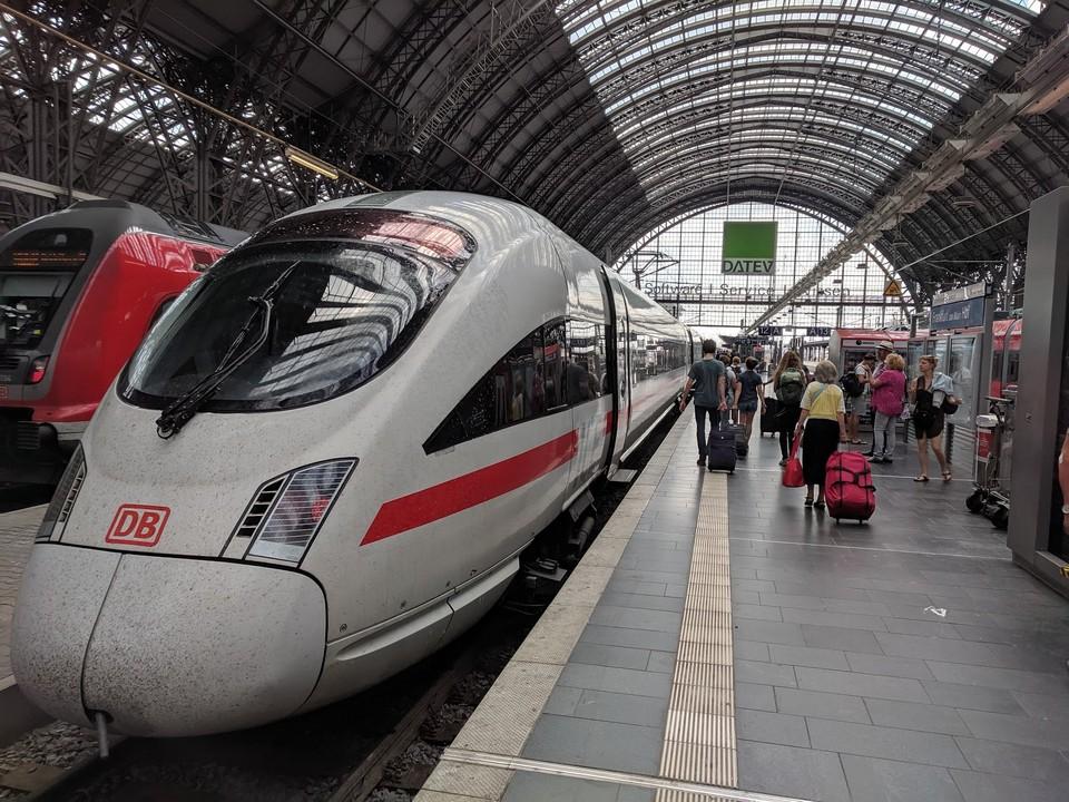Berlin To Frankfurt Train