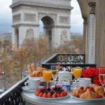 Hotel Splendid Etoile Paris review — Once luxurious in Splendid Etoile Hotel Paris France with stunning view of Arc de Triomphe