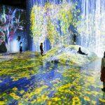 "Teamlab borderless Tokyo review — Experience the ""Infinite World"" at MORI Building Digital Art Museum teamLab Borderless"